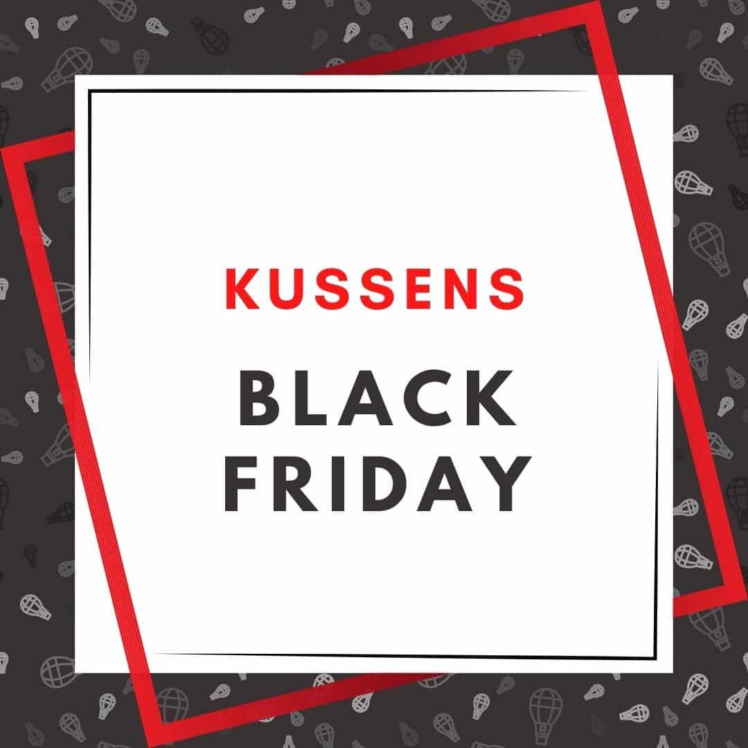 kussen black friday